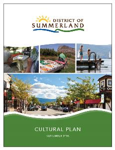 Summerland Cultural Plan 2016