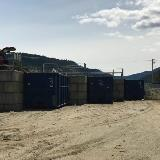 garbage transfer station