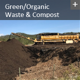 Green, Organic Waste and COmpost icon