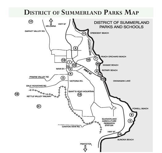 Summerland Canada Map Maps